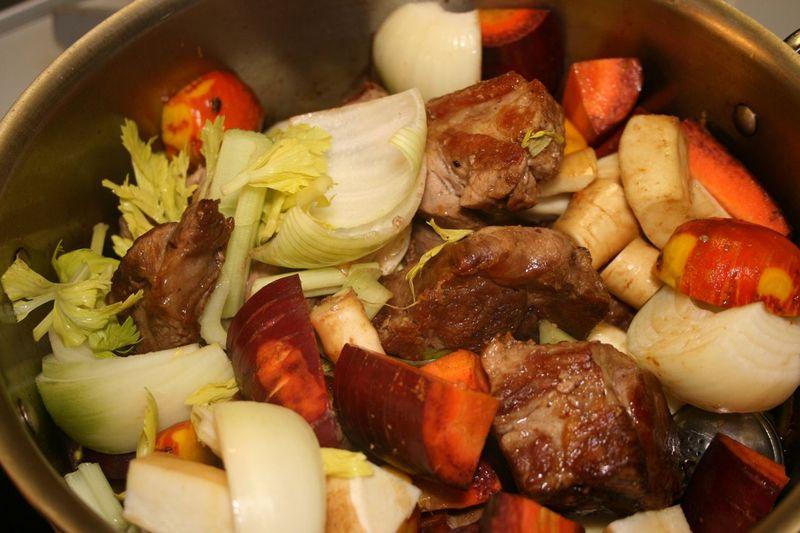 Braised pork fennel - 10