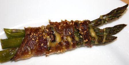 Bacon-asparagus