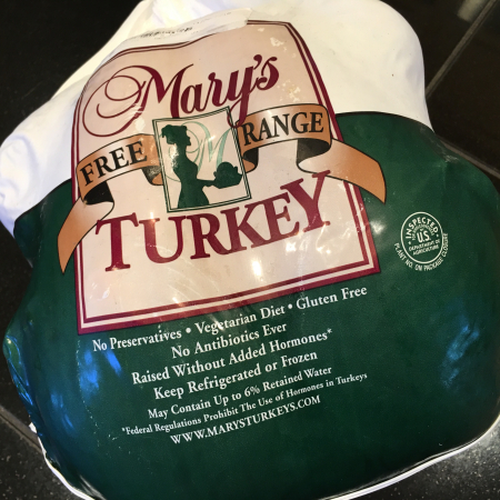 Turkey in package